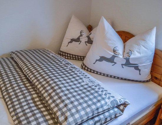 Doppelbett Detail