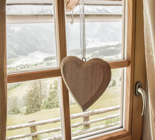 Fenster Herz